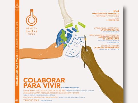 Revista I+D+i presenta investigaciones y tecnologías UdeC en la lucha contra el COVID-19