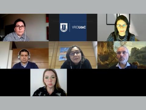 VRID UdeC presentó detalles sobre el trabajo de sus equipos a la comunidad de I+D+i+e