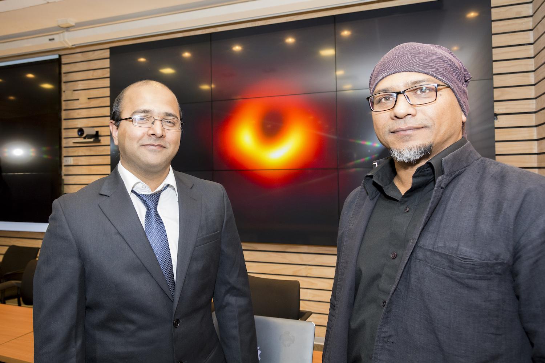 Con histórica participación UdeC: comunidad astronómica mundial presenta primera imagen de un agujero negro