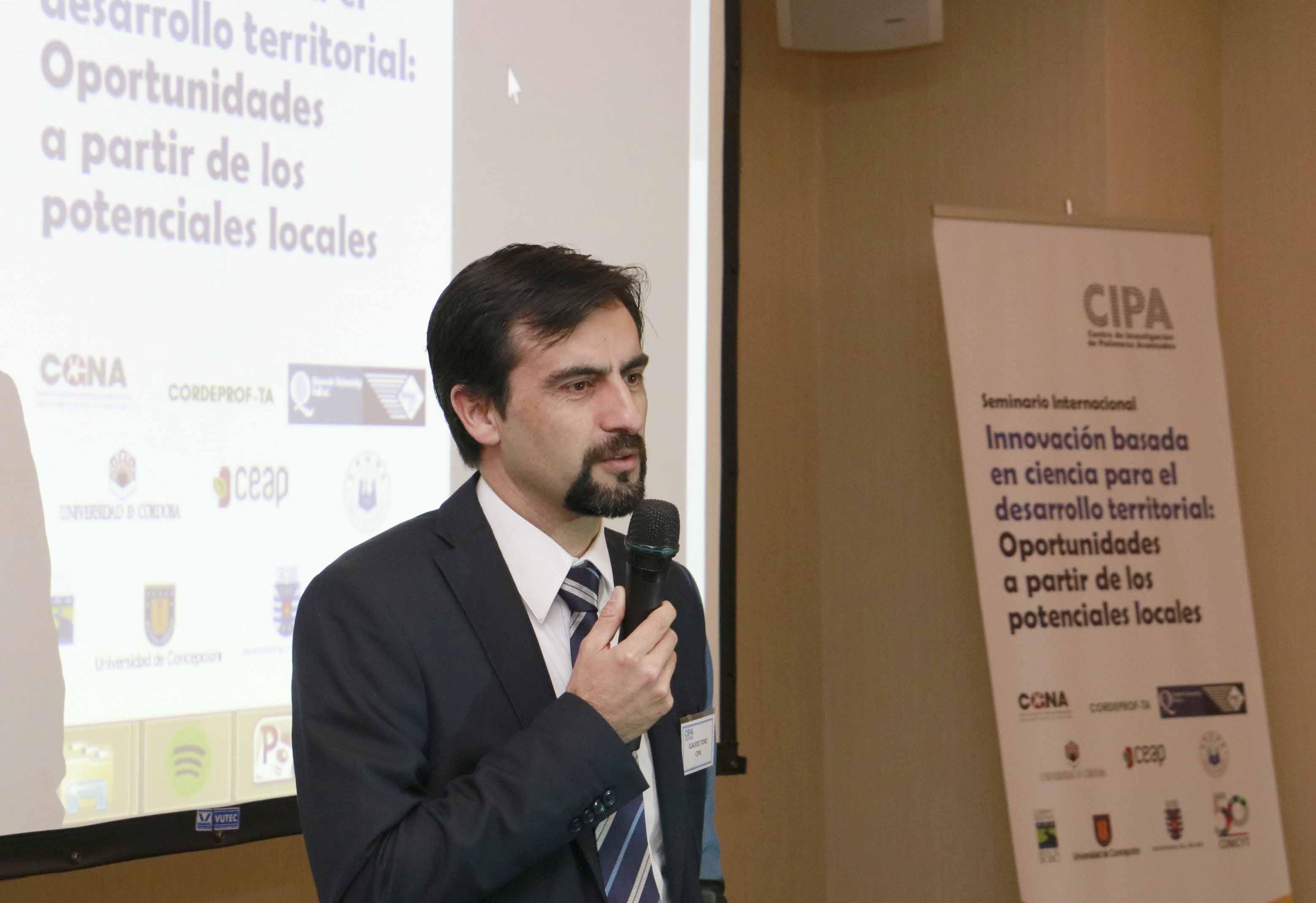 Cipa realizó seminario sobre innovación y ciencia para el desarrollo local