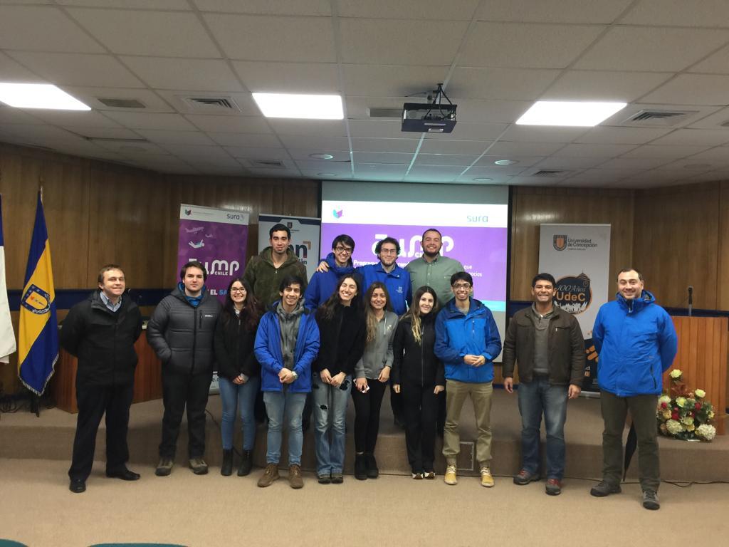 Concurso Jump Chile realiza lanzamiento del concurso 2019 en Campus Chillán