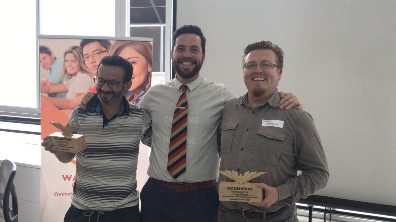 Fundación Wadhwani reconoce trabajo en emprendimiento de docente de Agronomía UdeC