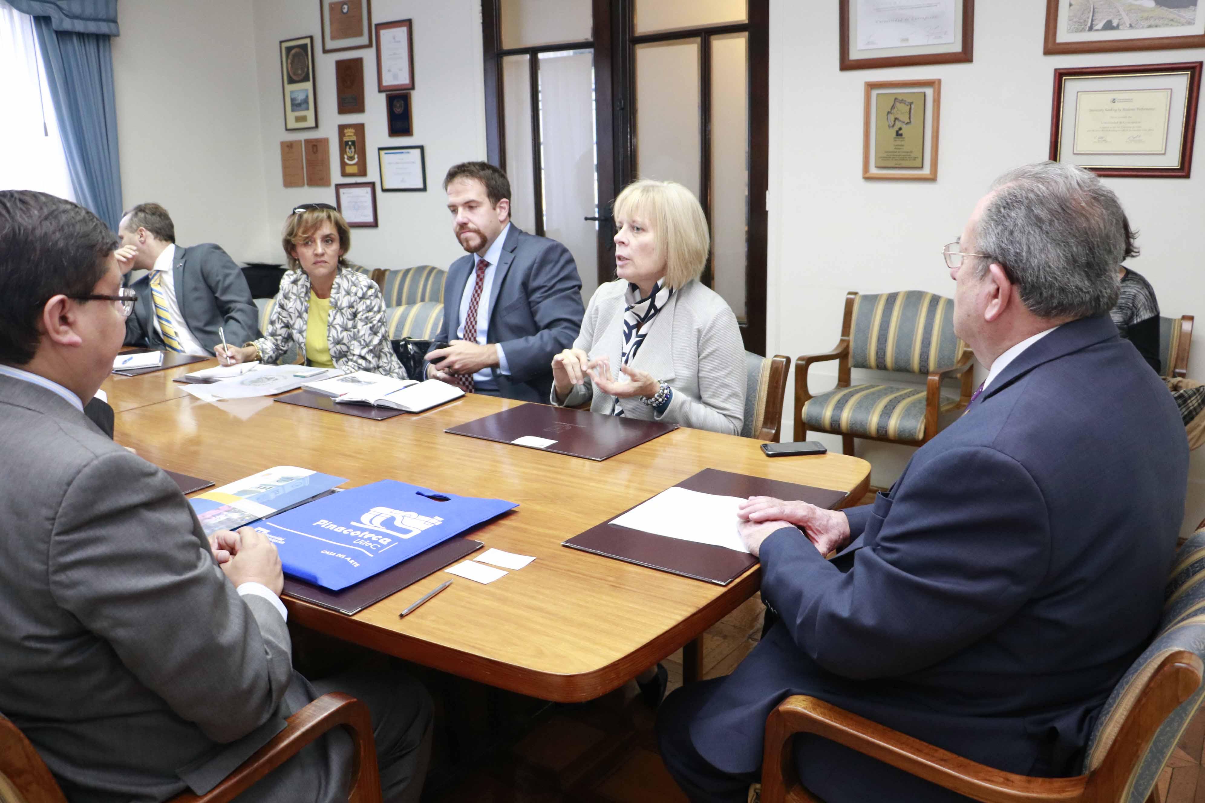 Embajada estadounidense invita a la UdeC a formar parte de su Consejo de Ciencia y Tecnología