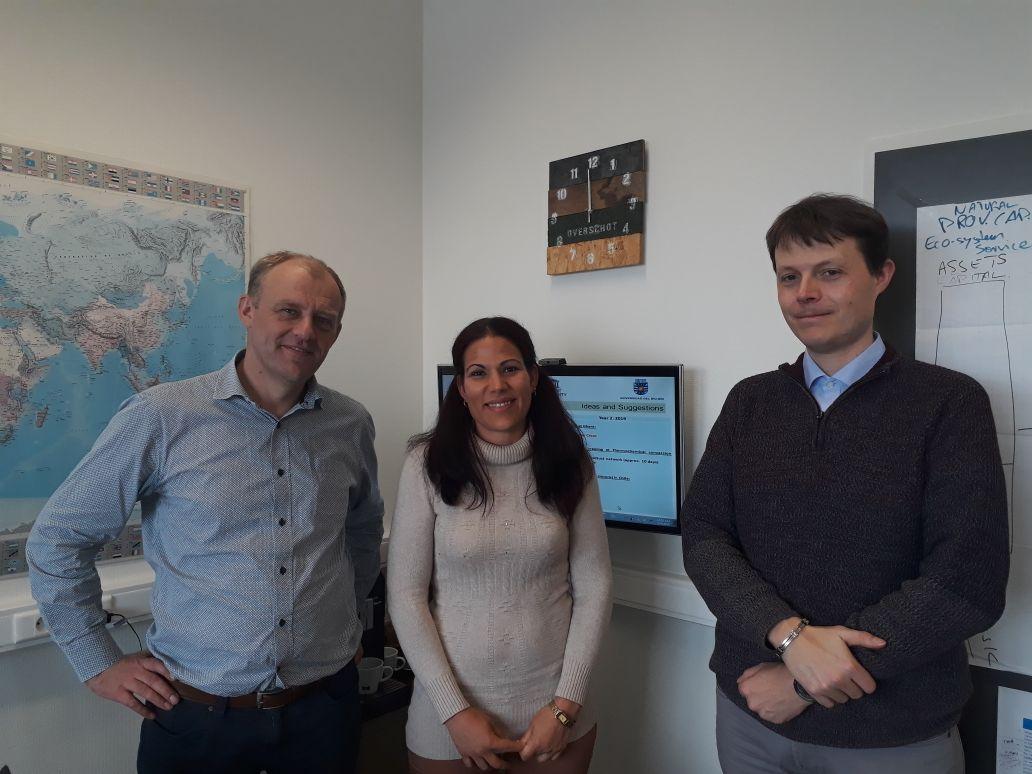 Académica de Ciencias Ambientales impulsa colaboración con universidad belga