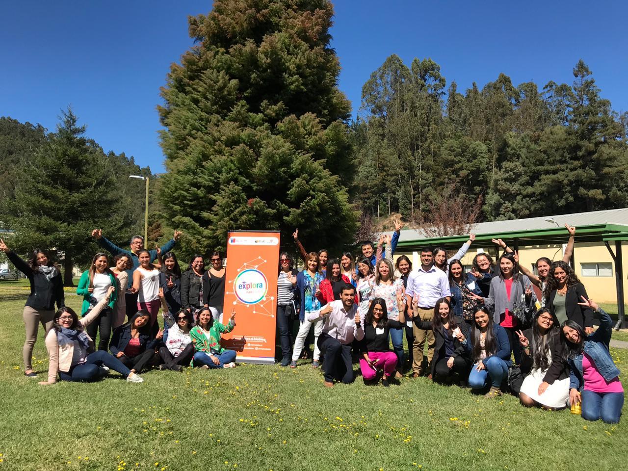 PAR Explora Biobío capacita a 74 profesores de las regiones del Biobío y del Ñuble