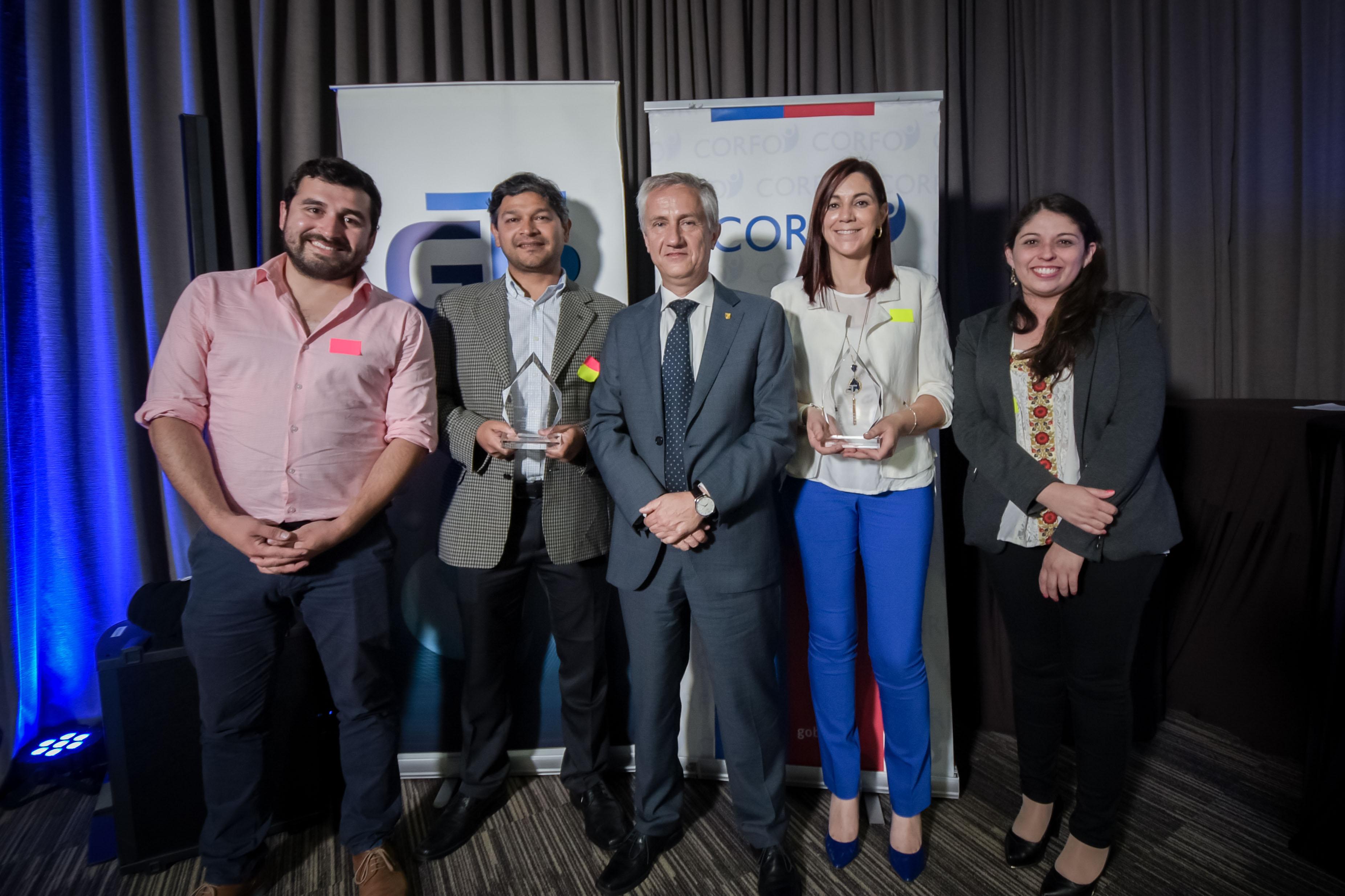 UdeC recibió premios Corfo por trabajo en transferencia tecnológica