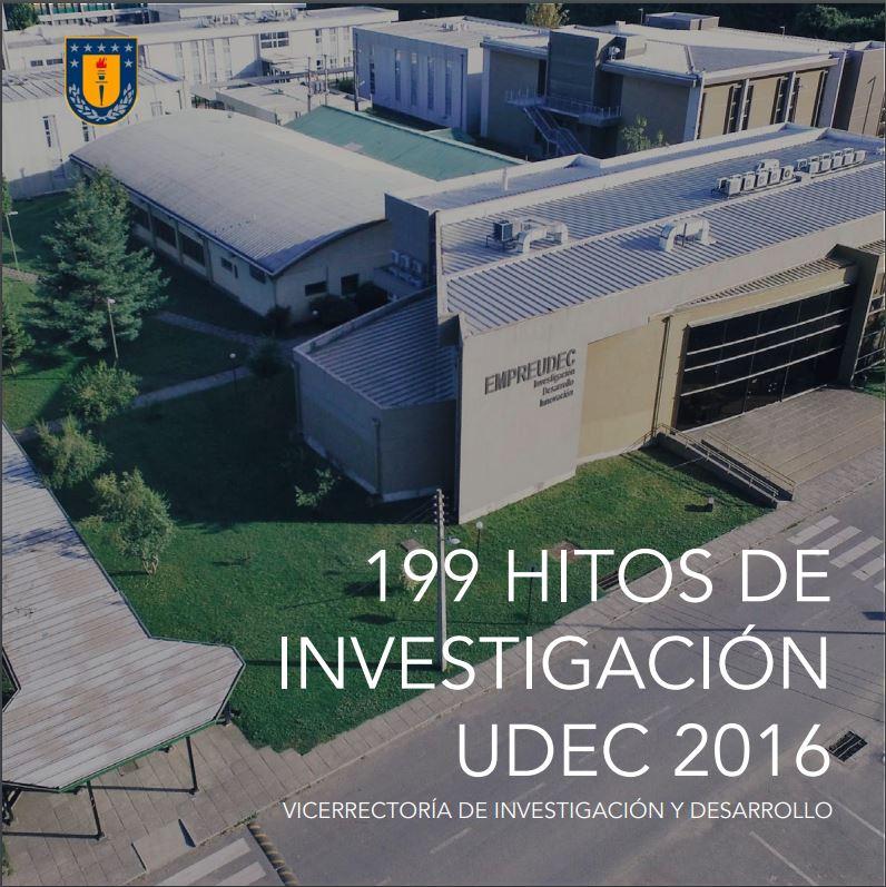 Vicerrectoría de Investigación y Desarrollo publica compilado de hitos 2016