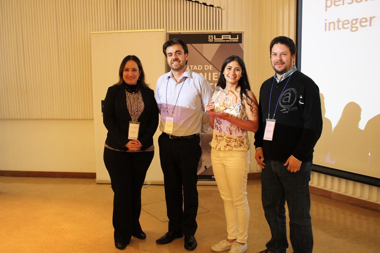 Estudiante de Ingeniería Civil Industrial ganó premio nacional al mejor proyecto de investigación de pregrado