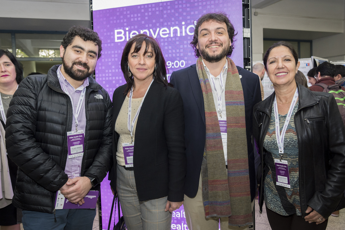 "UdeC destacó en encuentro internacional sobre salud digital ""Make Health Chile"""