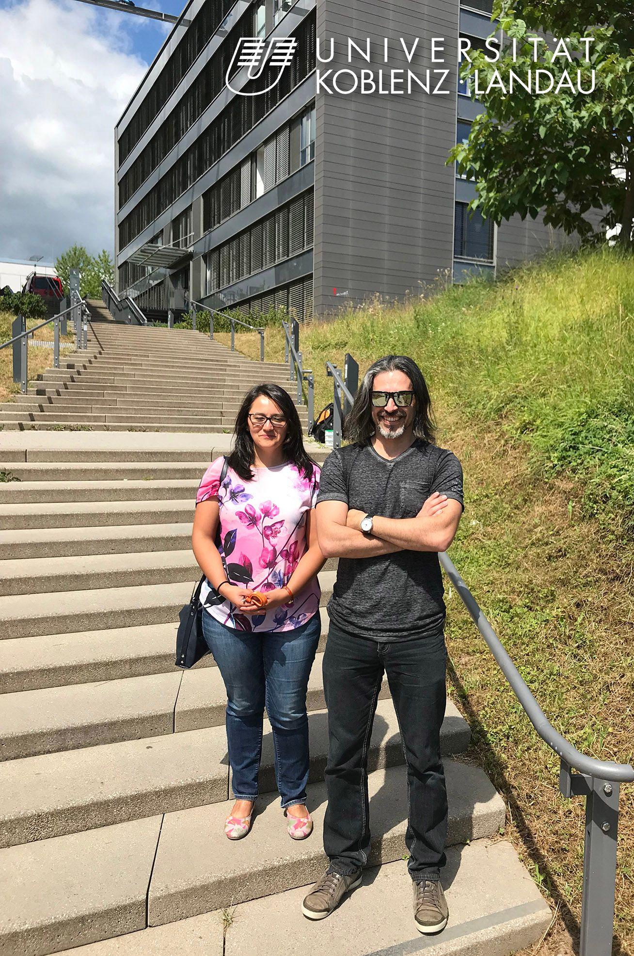 Académico de Ciencias Químicas realizó pasantía en Universidad de Koblenz-Landau de Alemania