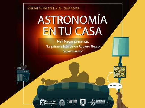 """Continúa el ciclo """"Astronomía en tu casa"""""""