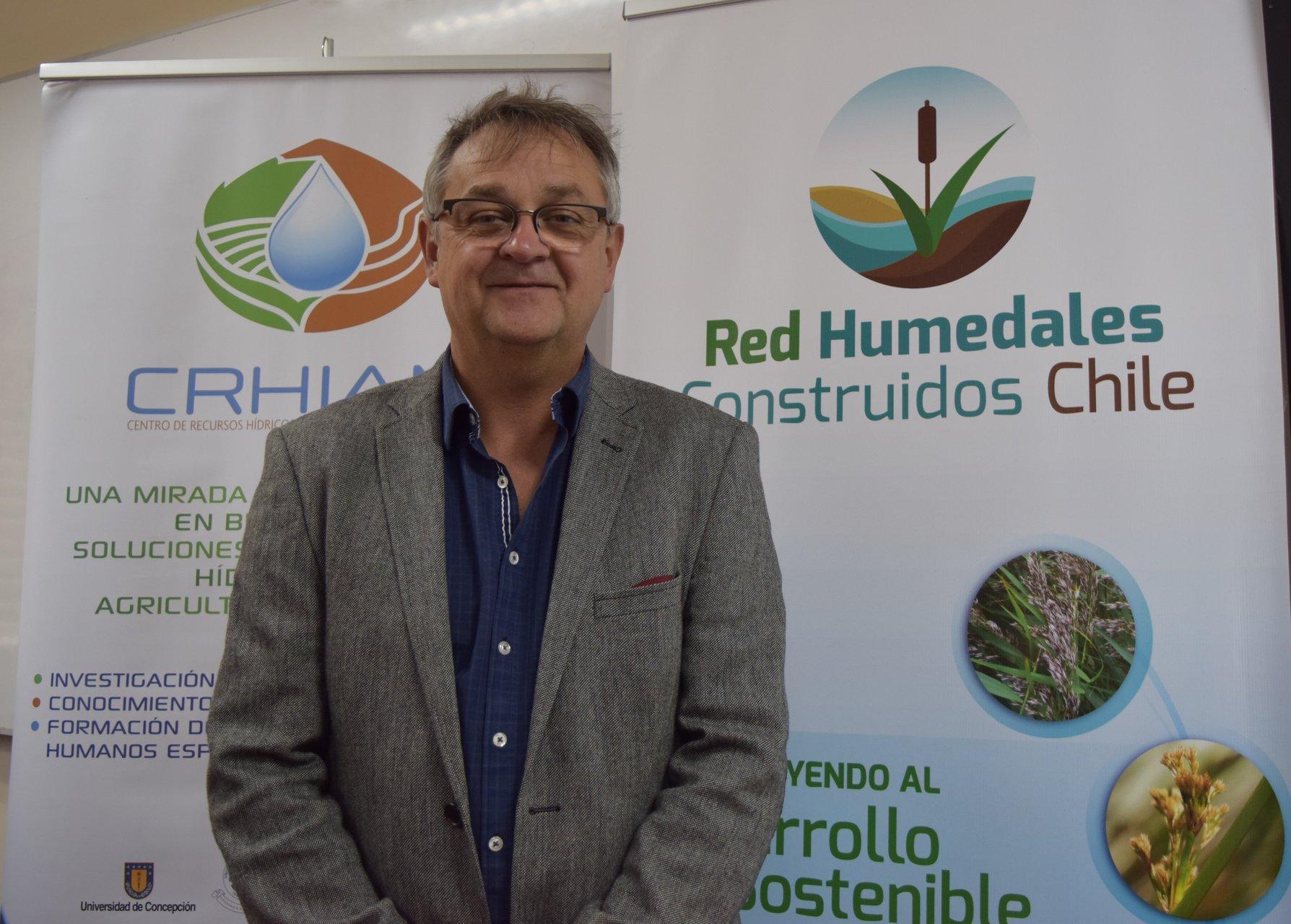Experto de la Universidad de Aarhus expuso sobre humedales y su relación con la agricultura durante su visita a Crhiam