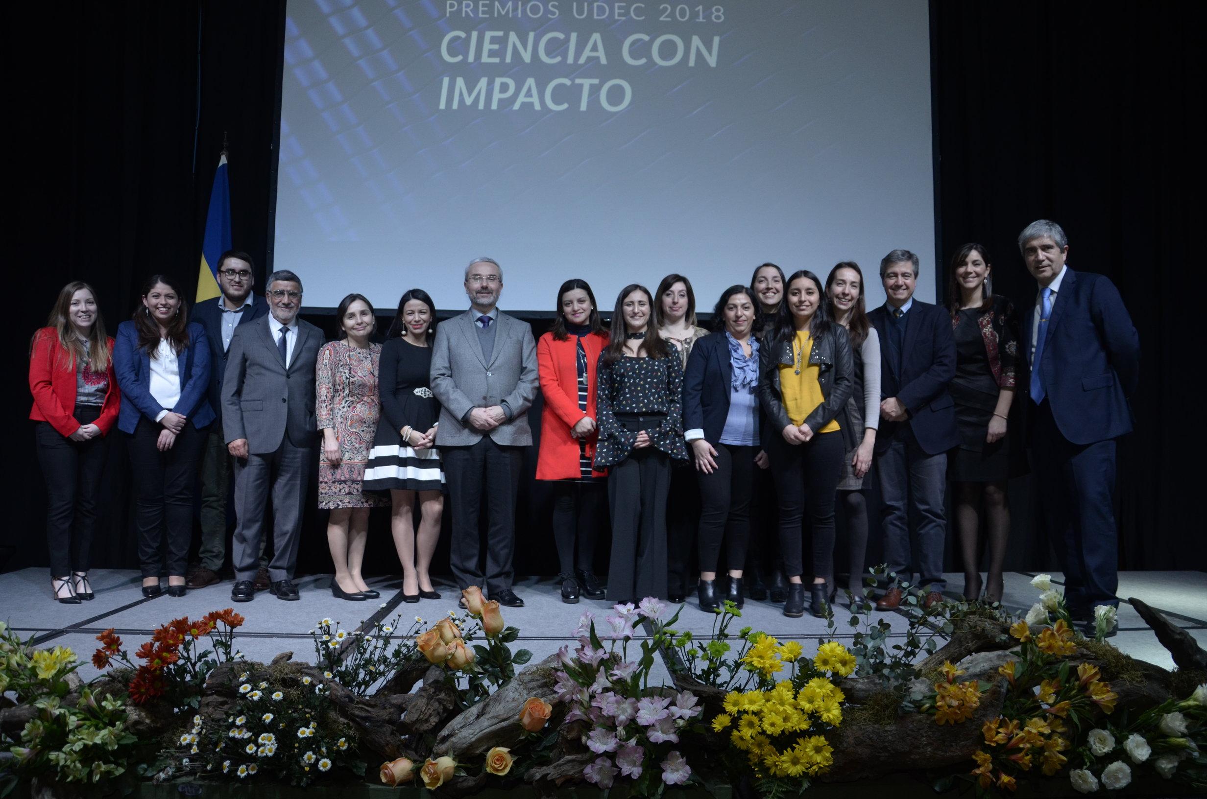 UdeC entregó reconocimiento a investigadores por su aporte a la sociedad