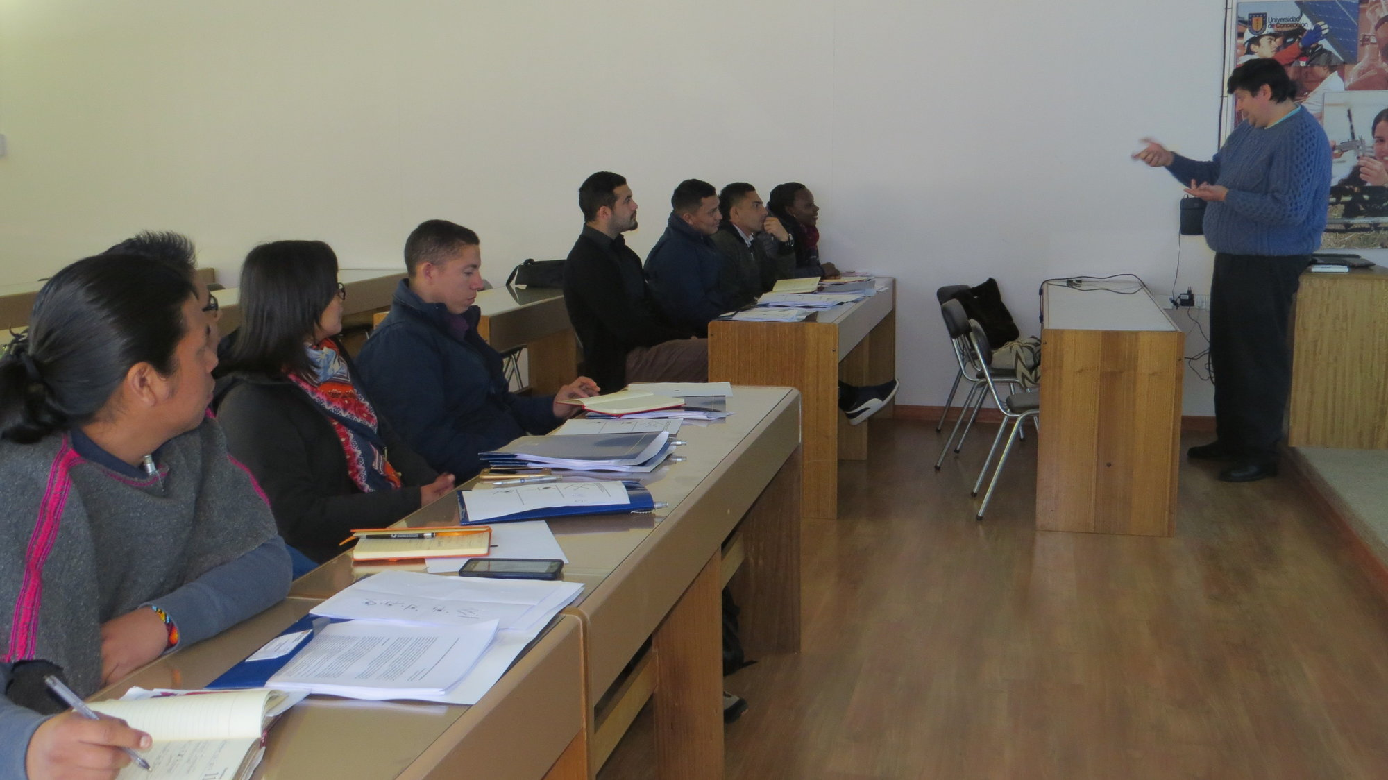 Emprendedores colombianos visitaron la Facultad de Ingeniería Agrícola