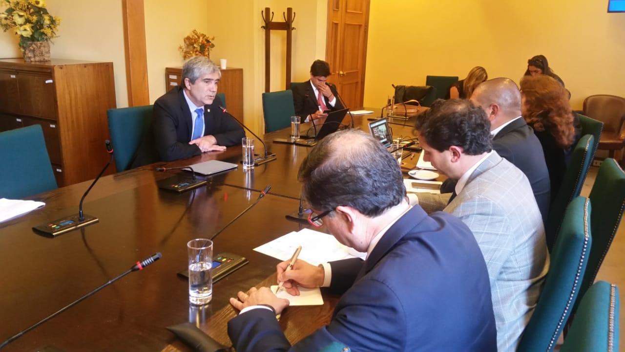 Rector Saavedra presentó avances del proyecto Pacyt a Comisión de Ciencias y Tecnología de la Cámara de Diputados