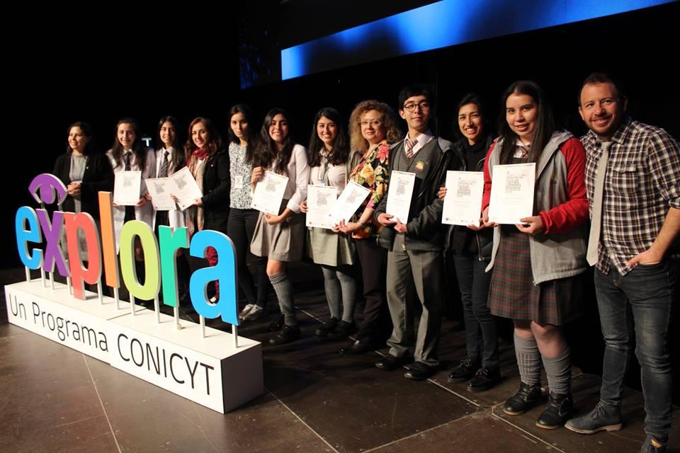 Congreso Provincial Escolar Explora Conicyt marcó el cierre de Ciencia Sin Ficción