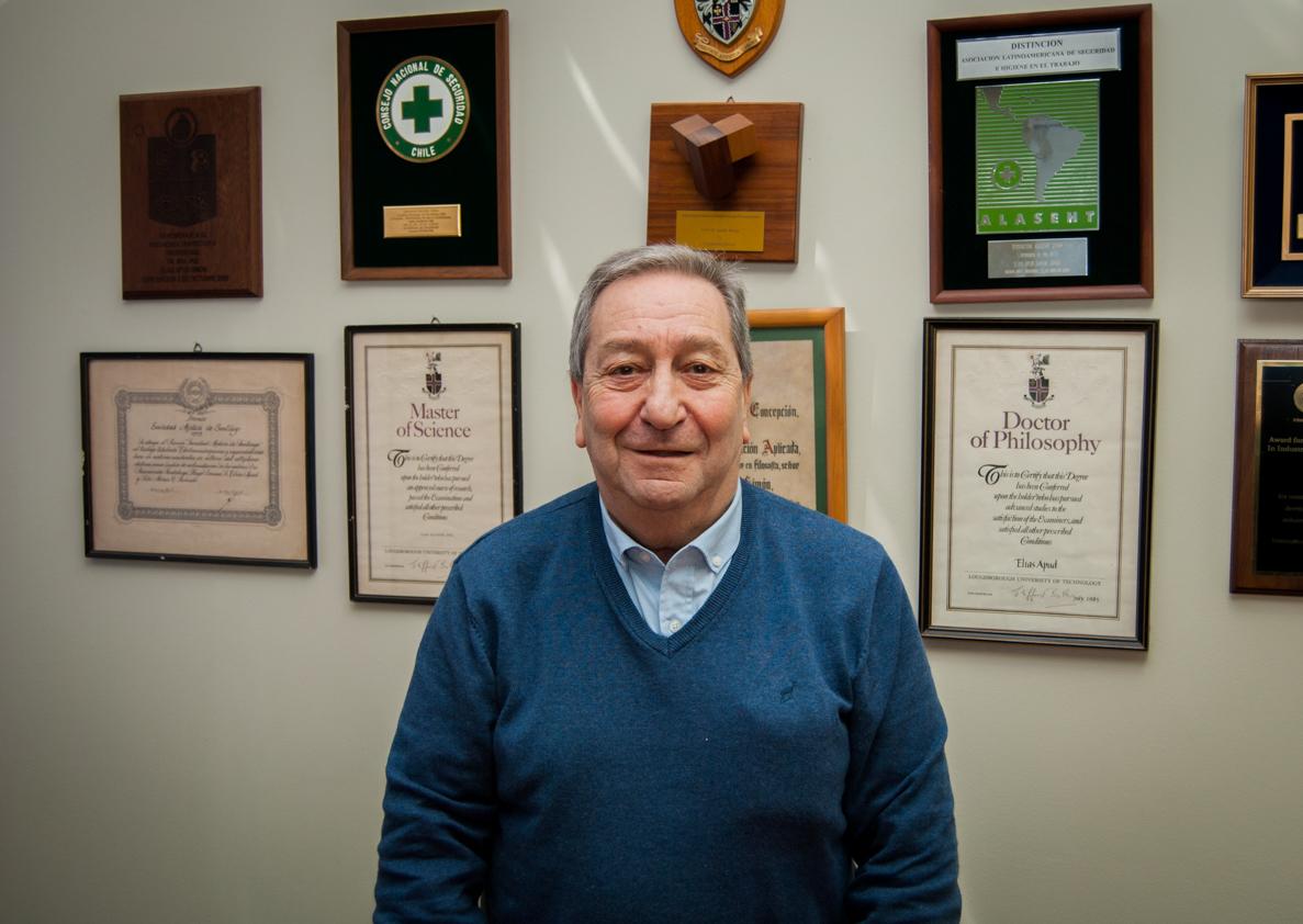 Dr. Elías Apud recibirá reconocimiento a su trayectoria en Estados Unidos