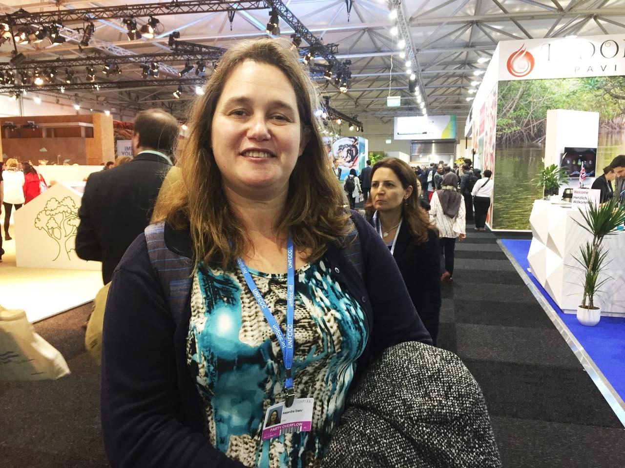 Directora del Centro Eula asiste a Conferencia de las Naciones Unidas sobre Cambio Climático