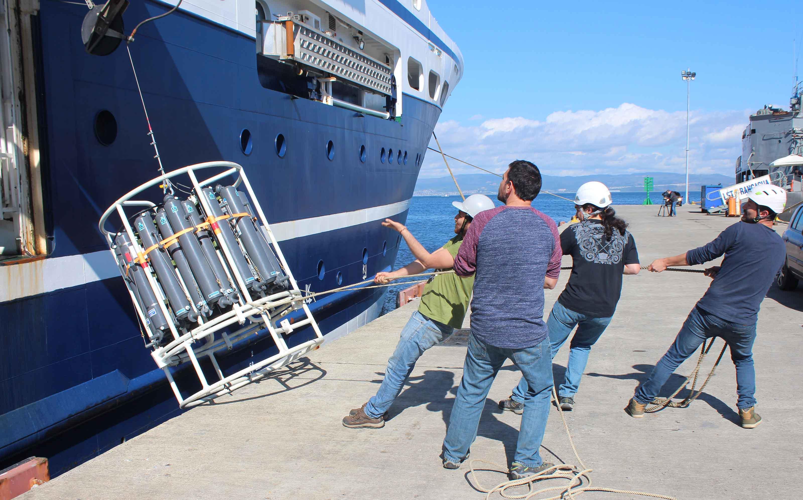 Expedición de Copas retornó a Talcahuano con 400 muestras del mar de la Patagonia