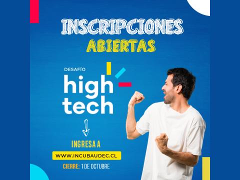 Incuba invita a participar en el Desafío High Tech 2020