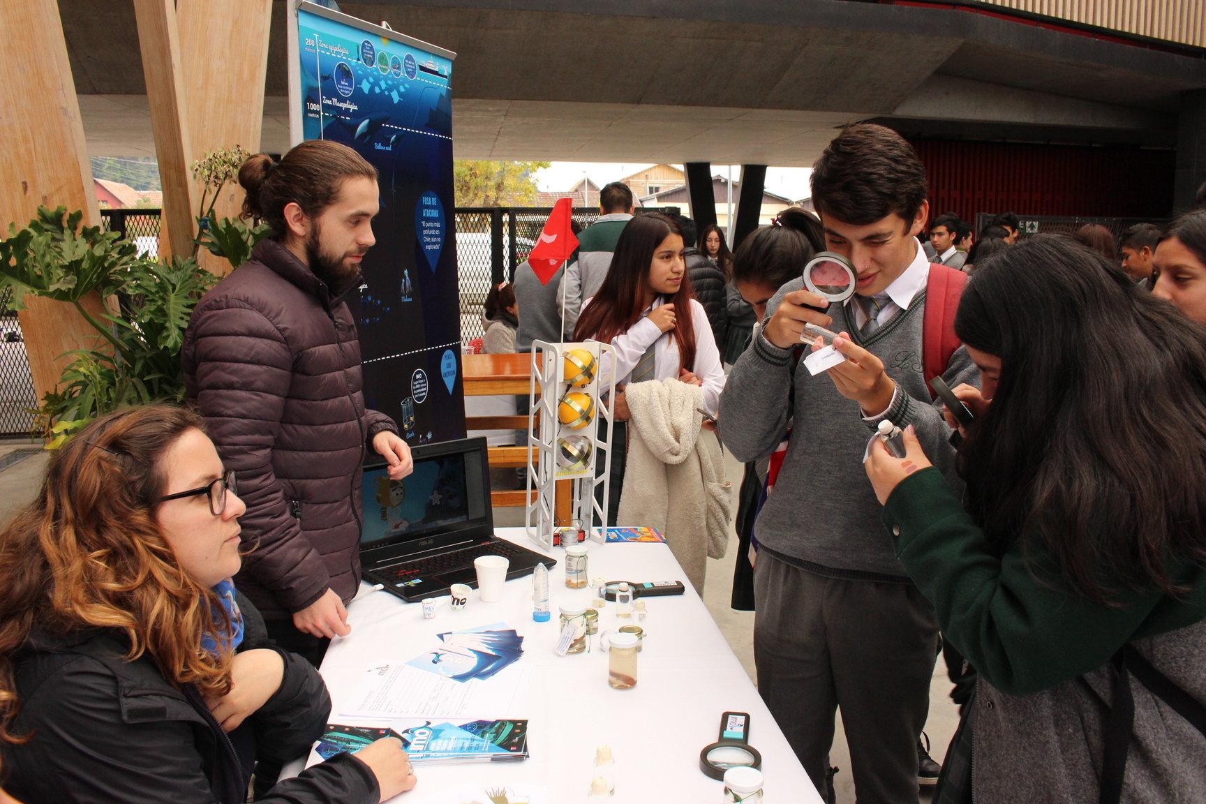 Incar organizó Feria Científica en Arauco