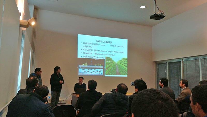 Laboratorio de Piscicultura trabaja en proyecto intercultural con comunidad lafkenche de Carahue