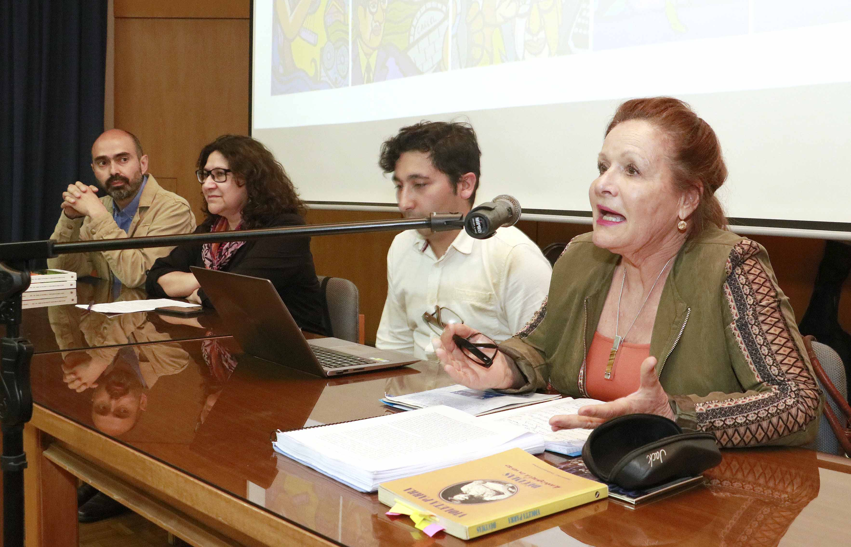 Presentaron investigación sobre los años de Violeta Parra en la UdeC