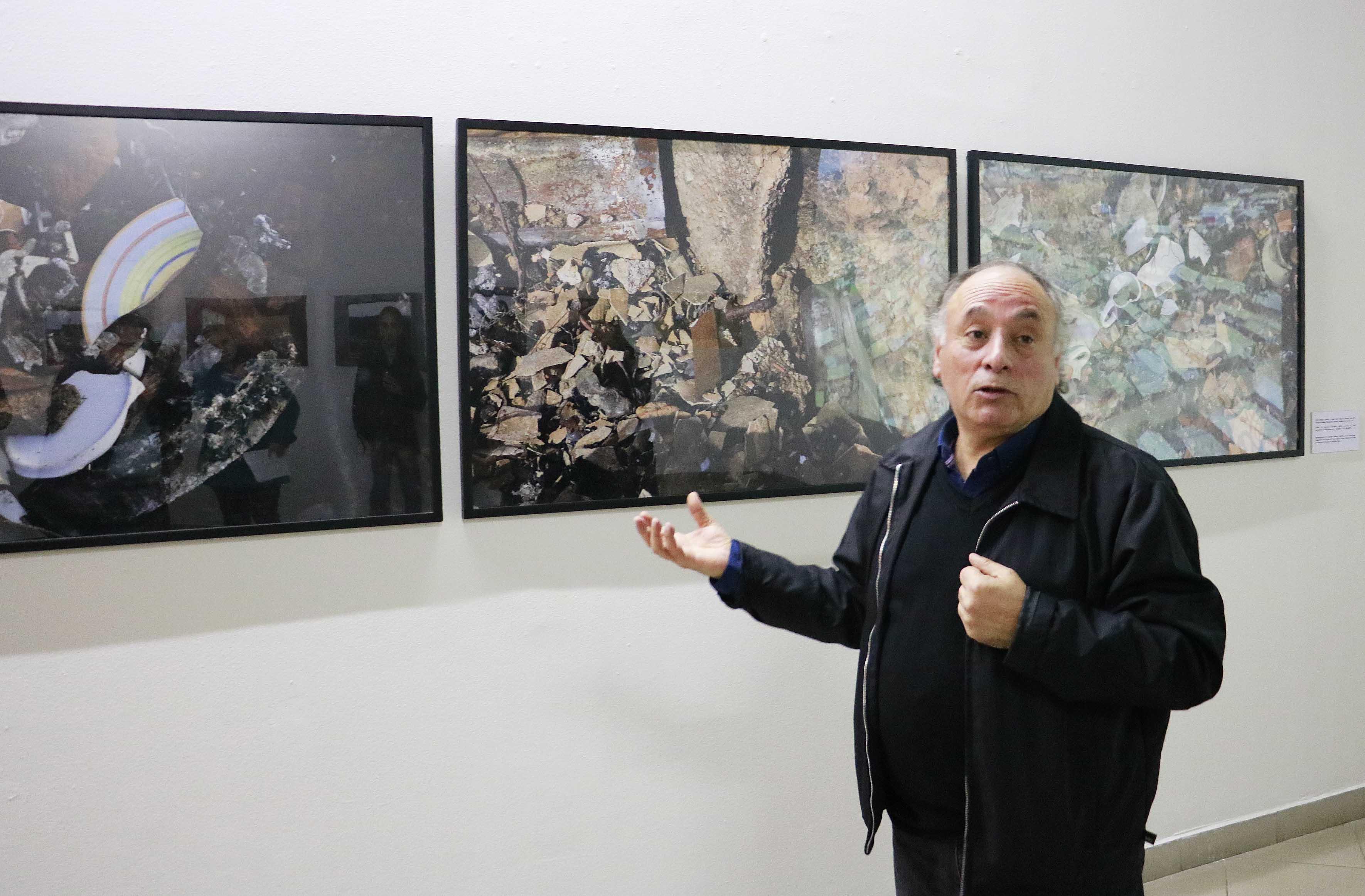 Exposición de académico del Departamento de Artes Plásticas se exhibe en Sala de Arte de Mall Plaza del Trébol