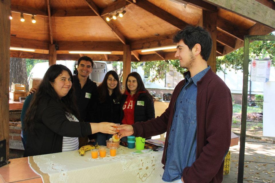 Estudiantes de Agronomía participaron en segunda Feria de Emprendimiento