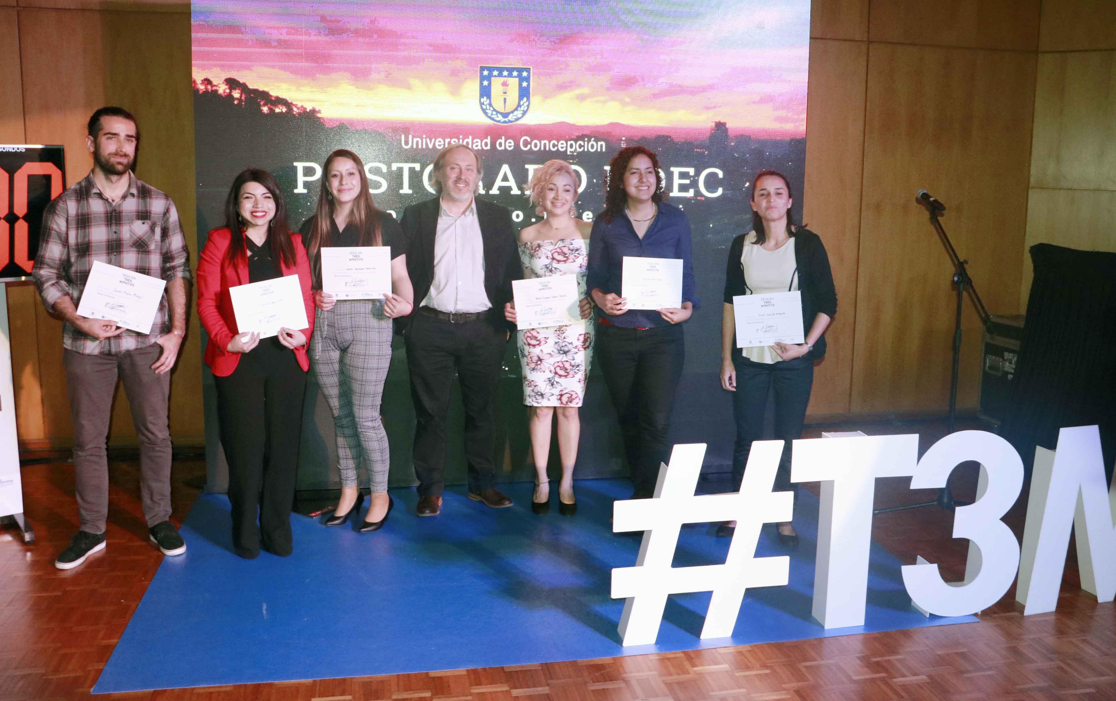 """Con alta premiación femenina culminó el concurso """"Tesis en tres minutos"""" de la Dirección de Postgrado"""