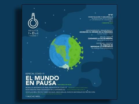 Edición especial de Revista I+D+i destaca iniciativas para enfrentar la pandemia